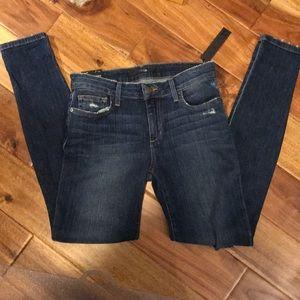 Joe's Jeans Distressed Skinny Ankle